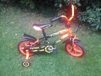 """Childs 12"""" bicycle"""