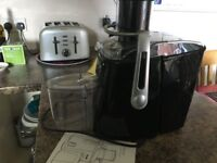 Juicer from Dualit rarely used Model STE 688352