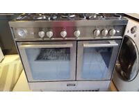 Freestanding Baumatic LPG/Gas Convertible Oven and Hob