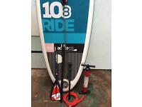 RED 10'8 Ride stand up paddle board