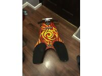 Shark spinner body board kids as new