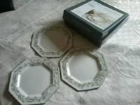 ETERNAL BEAU DESSERT PLATES X 3 (BOXED) BRAND NEW