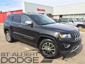 2014 Jeep Grand Cherokee LIMITED | 4X4 | V6 | PWR LIFT | HEAT LE