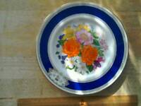 Commemorative plate marriage Prince Andrew and sarah ferguson