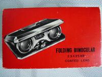 Binocular Opera / Theater Glasses Folding