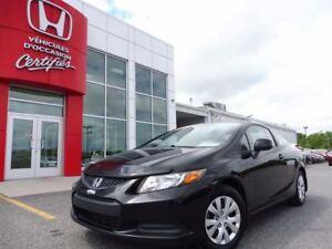 2012 Honda Civic LX  *** À PARTIR DE  54.47$/SEMAINE!***