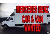 Mercedes Sprinter 208D - 308D - 310D - 312D -VANS WANTED