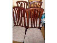 4 nice chairs
