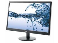 "Monitor AOC E2270SWN - 22"" LED - Full HD (1080p)"