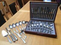 Housley international boxed stainless steel cutlery set