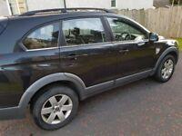Chevrolet Captiva LT 7 Seater Black 4x4