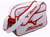 Mizuno Enamel Shoulder Bag Small 16DA810 90 Brand New White/Red