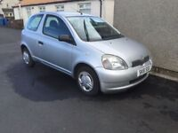 BARGAIN 2001 51 TOYOTA YARIS 1 MONTHS MOT SERVICE HISTORY PX WELCOME £195