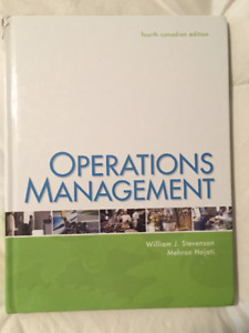 Operations Management 4th edition *Very good* condition