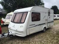 2 BERTH LIGHTWEIGHT 2003 COMPASS CORONA WITH END BATHROOM AND AWNING WE CAN DELIVER PLZ