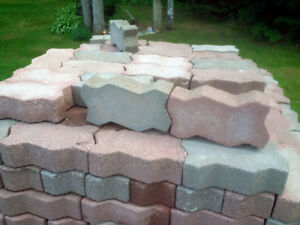 Pavers for patio etc ..new 900  + in total