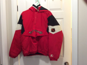 Detroit Redwings 90s Starter Jacket