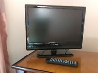 """19"""" TV with DVD Player"""