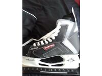 Brand New Sz 8 Mens Easton Ice Skates in bag with blade Protectors £50