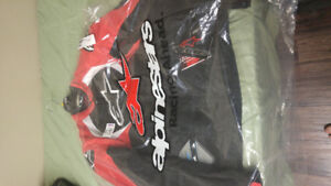 Alpine star size Large black/red brand new with tags