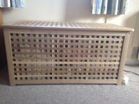 storage box/ blanket box for sale H X 1ft 7(49.5cm) W x1ft 8(50.5cm) L x3ft2 (98.4cm)
