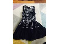 Black and silver dress - size 8