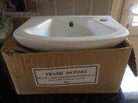 Cloakroom Basin with fixings