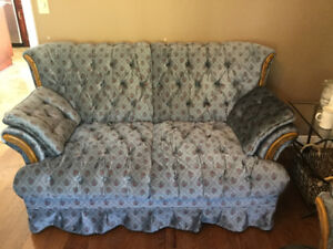 COUCH, LOVESEAT, CHAIR & COFFEE TABLE