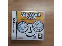 Nintendo DS My word coach