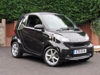 2011 Smart ForTwo 1.0 PULSE MHD 71BHP, BLACK, ALLOY WHEELS, HALF LEATHER