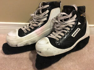 Bauer Supreme 1000 size 7EE goalie skates