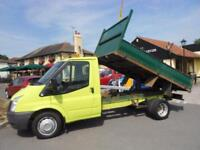 Ford Transit T350 LIMITED Diesel Tipper Truck Only 40K Miles