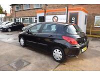 2010 Peugeot 308 model 1.6 HDI ( 110bhp ) 5sp Manual Diesel Black