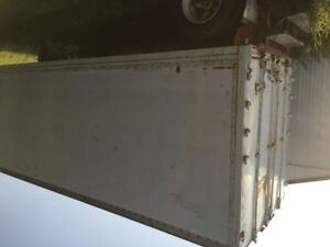 Sea Can Storage Trailer 28 X 9 High X 8