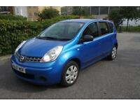 Nissan Note 1.4 16v Visia Manual 5 door Blue 3 Months Warranty