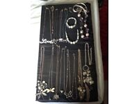 Costume Jewellery (Job Lot) used but in good condition