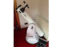 Skyliner 150 P Astro telescope and stand plus filter set barely used