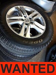 Looking for CRV Winters Rims and Tires