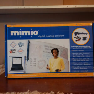 Turn any whiteboard into an electronic whiteboard