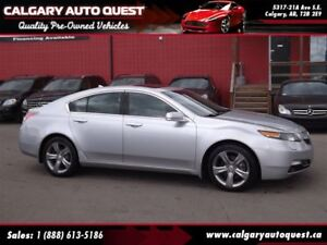 2012 Acura TL ALL WHEEL DRIVE/LEATHER/SUNROOF/MUST SEE