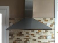 Proline Cooker Hood. 90cm. Stainless Steel