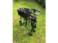 Triumph Uniscan Walker / Rollator with seat