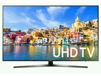 "Samsung 50"" tv 4k UHD Neno crystal smart wifi HD freeview."