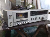 1980 Technics RS-M14 stereo cassette deck