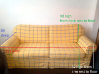 Mustard Colored Sofa Bed