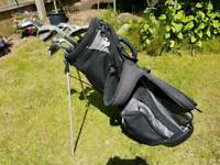 Golf bag and clubs/driver/putter
