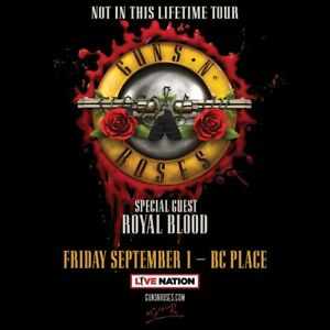 Guns N Roses: 4 tickets together, Lower Bowl - Sec 242, Row S