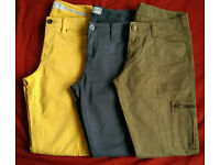 Women's three pairs of trousers from Esprit size 8-10 regular
