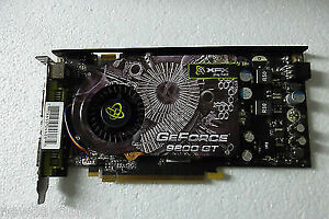 XFX 9800 GT PCIe 512MB Video Card With Dual DVI Ports