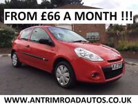 2010 RENAULT CLIO EXTREME 1.2 ** ONE LADY OWNER ** FINANCE AVAILABLE ** ALL CARDS ACCEPTED